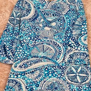 Lily Pulitzer 3/4 Sleeve Top 🌊✨